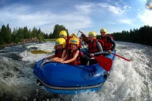 Villmarkskompaniet Villmarkskompaniet skat07 familierafting rafting