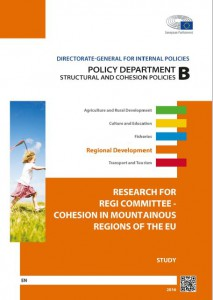 Cohesion in Mountainous Regions of the EU Study_February 2016
